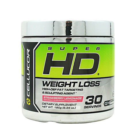 Cellucor Super HD Powder - Strawberry Lemonade - 30 Servings - 810390024858