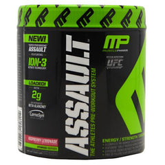 Muscle Pharm Hybrid Series Assault - Raspberry Lemonade - 20 Servings - 696859258114