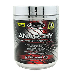 MuscleTech Performance Series Anarchy - Watermelon - 30 Servings - 631656707885