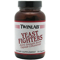 TwinLab Yeast Fighters - 75 Capsules - 027434016803