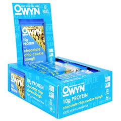 Only What You Need OWYN Bar - Chocolate Chip Cookie Dough - 12 Bars - 857335004957