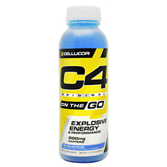 Cellucor Original C4 On the Go - Icy Blue Razz - 12 Bottles - 842595109269