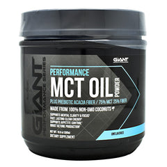 Giant Performance Series Performance MCT Oil Powder - Unflavored - 30 Servings - 703230844023