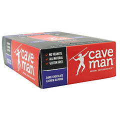 Caveman Foods Caveman Bar - Dark Chocolate Cashew Almond - 15 Bars - 10853385003534