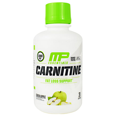 MusclePharm Essential Carnitine - Green Apple - 31 Servings - 856737003889