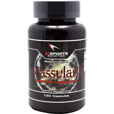 AI Sports Nutrition Platinum Series Massularia - 120 Capsules - 804879434955