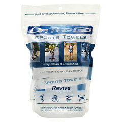 On The Go Towels Sports Towels - Revive - 10 ea - 868876000056