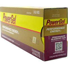 Powerbar Energy Gel - Pomegranate Blueberry Acai - 24 ea - 097421776898