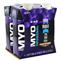 EAS Myoplex Original Myoplex RTD - Chocolate Fudge - 12 ea - 00791083006125