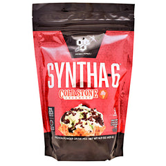 BSN Cold Stone Creamery Syntha-6 - Mint Mint Chocolate Chocolate Chip - 9 Servings - 834266008681