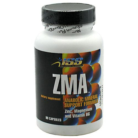 ISS Research ZMA - 90 Capsules - 788434112581