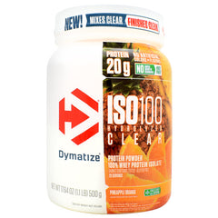 Dymatize ISO100 Hydrolyzed Clear - Pineapple Orange - 20 Servings - 705016340019