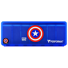 Perfectshaker 7 Day Vitamin Storage - Captain America - 1 ea - 672683001768