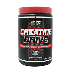 Nutrex Creatine Drive Black - Unflavored - 100 Servings - 853237000745