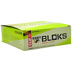 Clif Shot Bloks Energy Chews - Citrus - 18 ea - 722252380708