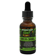 Hemp Bombs CBD Oil - Peppermint - 300 mg - 744368391478