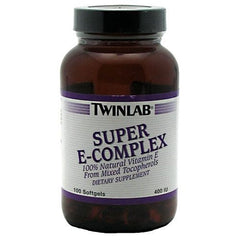 TwinLab Super E-Complex - 100 Softgels - 027434008112