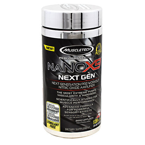 Muscletech Performance Series naNOX9 Next Gen