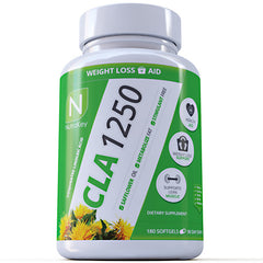 Nutrakey CLA 1250 - 180 Softgels - 851090006584