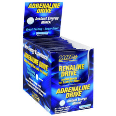 MHP Adrenaline Drive - Peppermint - 20 Packets - 666222009292