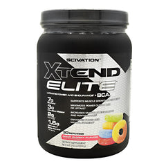 Scivation Xtend Elite - Sour Gummy - 30 Servings - 842595103205