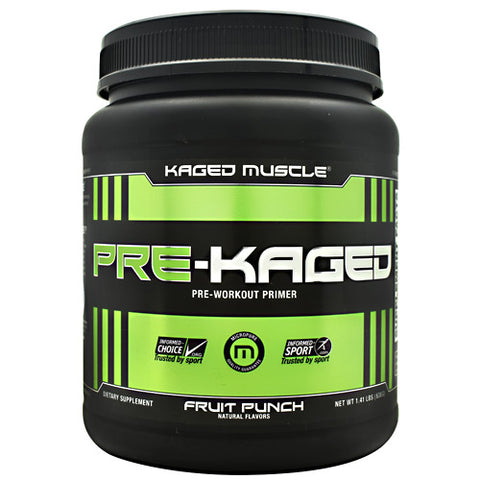 Kaged Muscle Pre-Kaged - Fruit Punch - 20 Servings - 094393450665