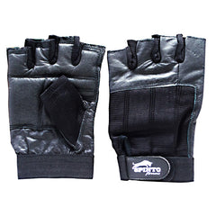 Spinto Mens Workout Gloves - Black (MD) -   - 636655966608