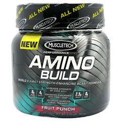 Muscletech Amino Build - Fruit Punch - 30 Servings - 631656703924
