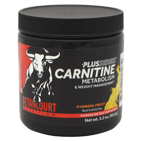 Betancourt Nutrition Plus Series Carnitine Plus - Passion Fruit - 60 Servings - 857487005079