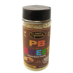 Sweet Spreads PB and Sweet Peanut Butter Powder - Peanut - 6.5 oz - 855650005062