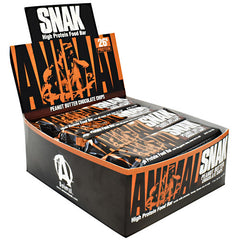 Universal Nutrition Animal Snak Bar - Peanut Butter Chocolate Chips - 12 Bars - 039442010957