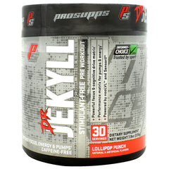 Pro Supps Stimulant Free Dr. Jekyll - Lollipop Punch - 30 Servings - 818253028517