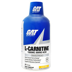 GAT Essentials L-Carnitine - Lemon Blast - 32 Servings - 816170021925