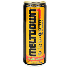 VPX Meltdown 1 Keto - Peach Mango - 12 fl oz - 610764240125