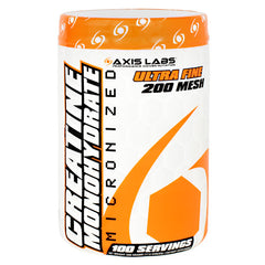 Axis Labs Essential Series Creatine Monohydrate - 100 Servings - 689076956604