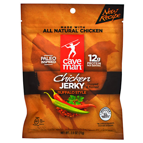 Caveman Foods Chicken Jerky - Buffalo Style - 2.5 oz - 853385003971