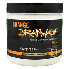 Controlled Labs Orange Brainwash - Fruit Splash - 20 Servings - 856422005754