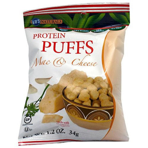 Kays Naturals Protein Puffs - Mac & Cheese - 1.2 oz - 10811178009293