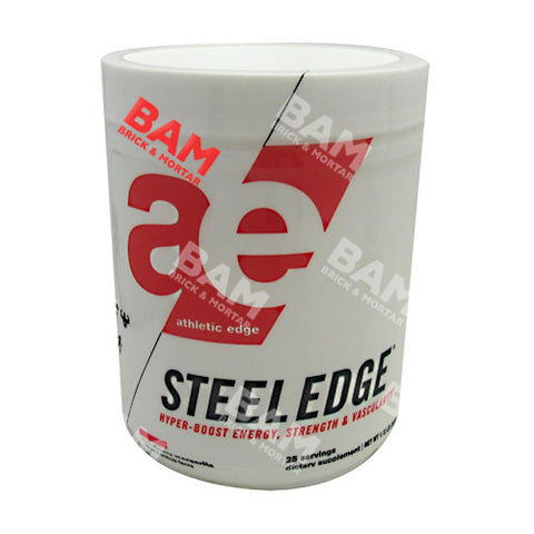 Athletic Edge Nutrition Steel Edge - Strawberry Margarita - 25 Servings - 862512000004