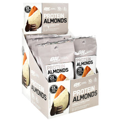 Optimum Nutrition Protein Almonds - Cookies and Creme - 12 Packets - 748927960501