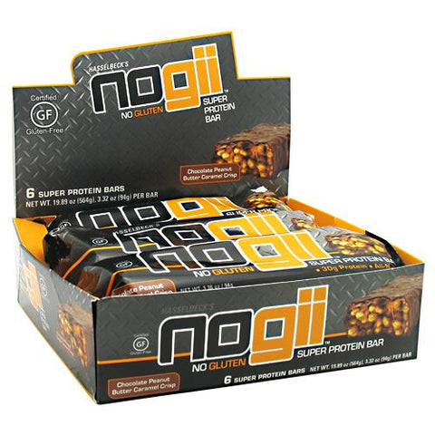NoGii NoGii Super Protein Bar - Chocolate Peanut Butter Crisp - 6 Bars - 856513002303