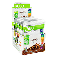 Vega Essentials Shake - Chocolate - 12 ea - 838766011172
