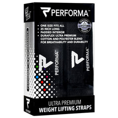 Perfectshaker Weight Lifting Straps - Black - 1 Pair - 672683002239