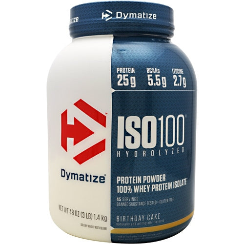 Dymatize Iso 100 NutritionalPowerCenter