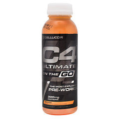 Cellucor Ultimate C4 On the Go - Orange - 12 Bottles - 842595102628