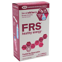 FRS Energy Powder - Low Cal Wild Berry - 14 Packets - 872774004108