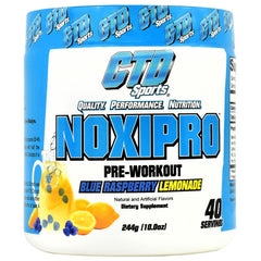 CTD Labs Noxipro - Blue Raspberry Lemonade - 40 Servings - 852228007374