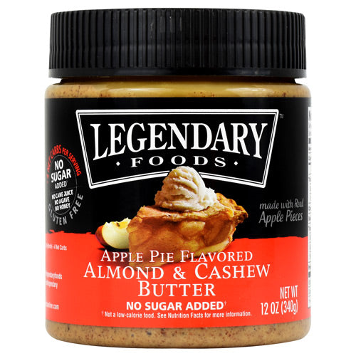 Legendary Foods Almond & Cashew Butter