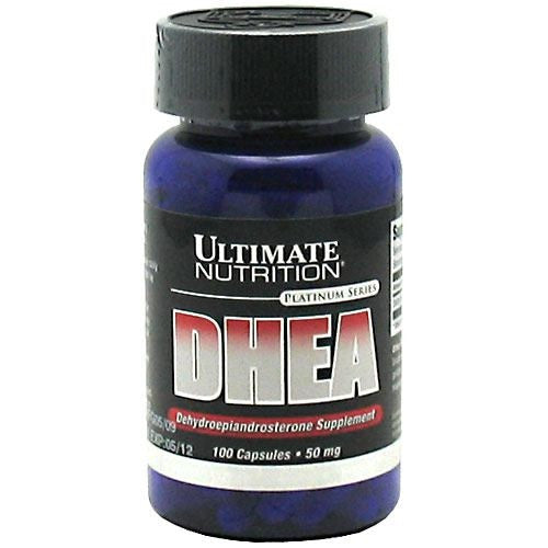 Ultimate Nutrition DHEA-Dehydroepiandrosterone Supplement