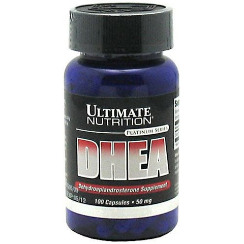 Ultimate Nutrition DHEA-Dehydroepiandrosterone Supplement - 100 Capsules - 099071000316